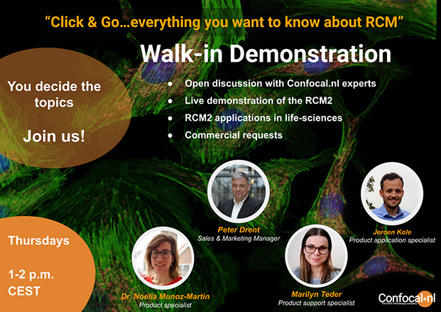 click and go demonstration rcm