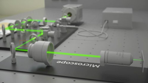 Our mission and vision microscopy